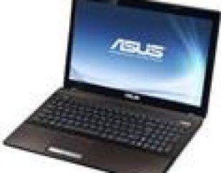 لپتاپ ASUS مدل K53SV + هارد SSD و کولهپشتی