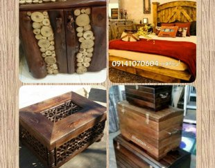 فروش ویژه انواع تخت سنتی . و کلیه خدمات سازه های چوب