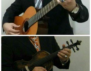 تدریس حرفه ایی ویولن و گیتار
