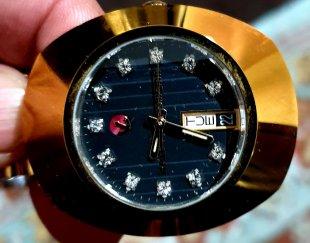 ساعت رادو اصل سویس اتومات اعداد الماس ضد خش کامل