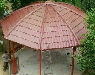 اجرای اردواز سقف شیروانی
