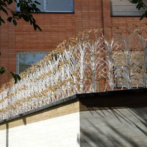 انواع حفاظ دیوار ساختمان شاخ گوزنی سرنیزه ای