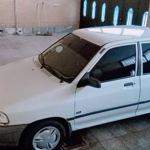پراید مدل ۸۳ رنگ سفید