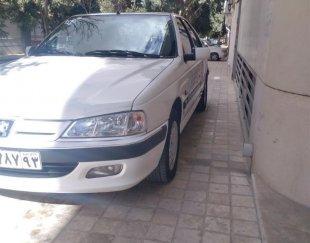 پژو پارس سفید مدل ۸۸