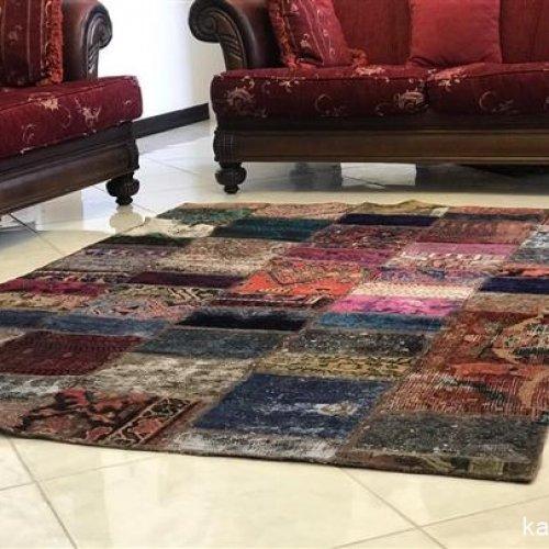 عرضه و فروش فرش های چهل تیکه شیک و مدرن