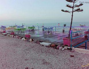 ۳۰۰ متر کافه رستوران و سفره خانه  ساحلی کیلومتر ۲ نمک آبرود