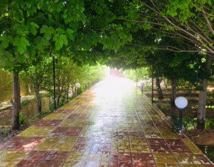باغ شهری ویلایی واقع در شهرک صدرا استان فارس