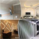 طراحی واجرای سقف و دیوار کناف عایق صدا و حرارت