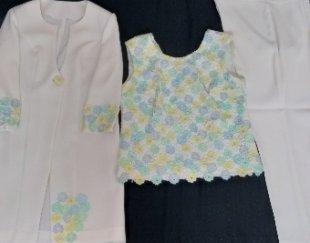 ست مانتو تاپ و لباس مخصوص خانمهای شیک پوش
