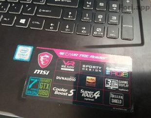 لب تاب گیم MSI E63 RAIDER  فروش بسیار فوری