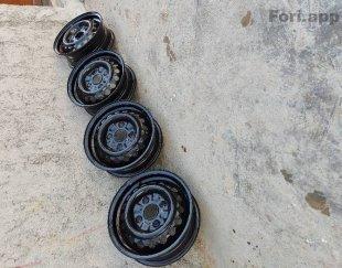 چهار حلقه رینگ فابریک پراید در حد خشک
