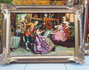 تابلو فرش استاد نقاش