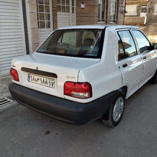 خودرو  پراید ۱۳۱ مدل ۹۸
