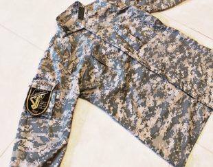 لباس نظامی یقه چسبی دیجیتالی
