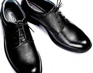 تولید کفش مردانه تمام چرم طبیعی گاوی