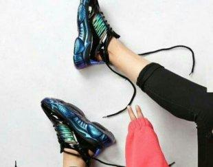کفش کتونی دخترانه، شیک و اسپرت