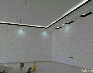 طراحی و اجرای کناف سقف کاذب دکور نورمخفی