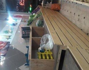 بیست متردکورچوبی اصل روسی میوه فروشی