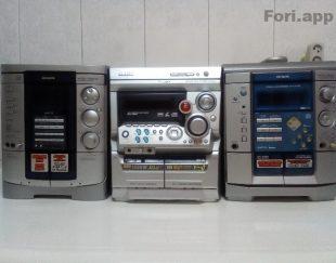 سه دستگاه صوتی تصویری AUX فعال