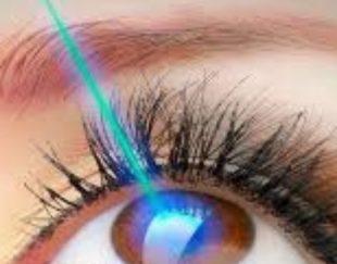 عمل لازک و لیزیک چشم (حذف دائم عینک)