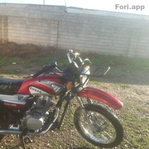موتورسیکلت احسان شکاری
