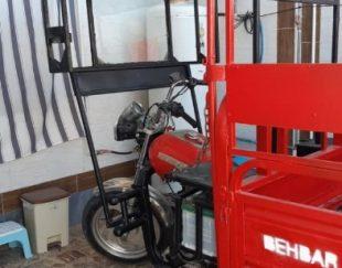 موتور سه چرخ قرمز بهبار