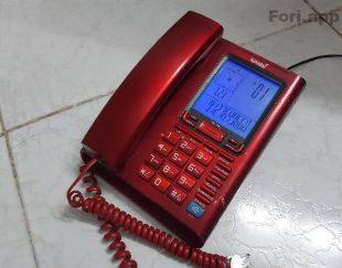 تلفن رو میزی