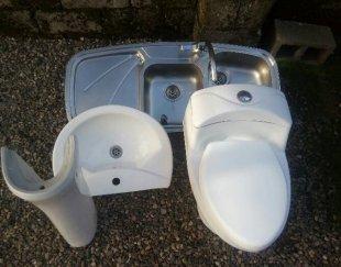 فروش, سینک ظرفشویی , روشویی دستشویی, توالت فرنگی