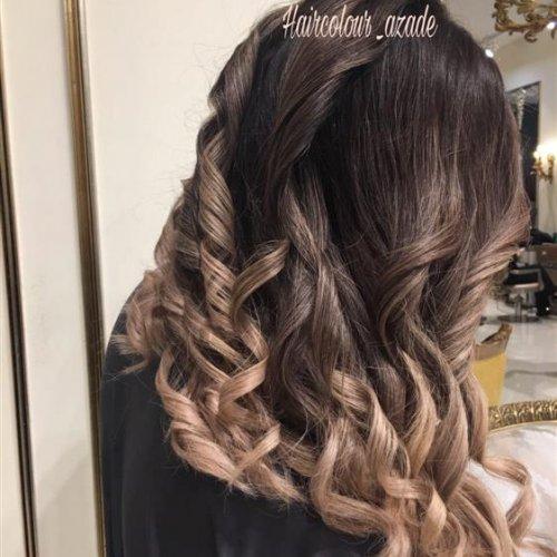 خدمات مو … آموزش رنگ و لایت و کراتینه