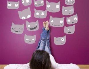 استیکر دیواری پی وی سی