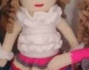 فروش انواع عروسک های بافتنی نو