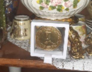 سکه یادبود ناصرالدین شاه ضرب دوم
