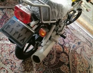 موتور سیکلت پرواز ۱۲۵ طرح ۲۰۰ صفر صفر خشک