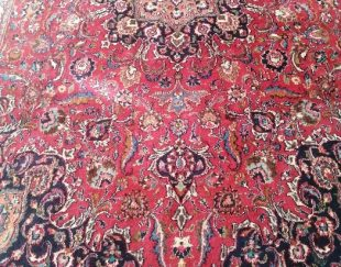 فرش دست باف قدیمی ۴۳ سال