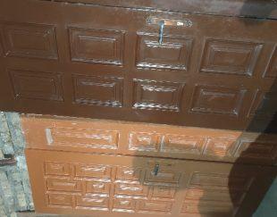 درب ساختمانی چوبی
