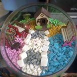 تراریوم یا باغ شیشهای در بافق