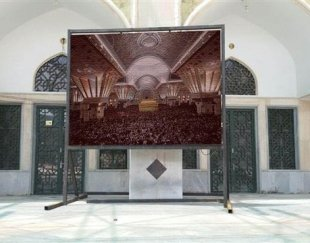 تابلو LED تابلو روان و نمایش فیلم ۱۶ میلیون رنگ