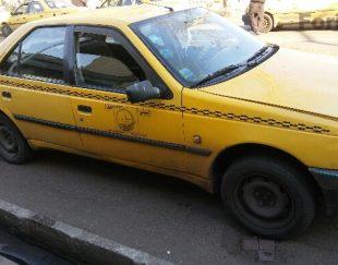 فروش تاکسی ۴۰۵ دوگانه سوز