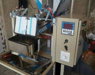 دستگاه بسته بندی حبوبات نیمه اتوماتیک