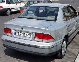سمند، X7 مدل ۸۵
