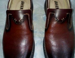 فروش یک جفت کفش چرم سایز۴۳نو