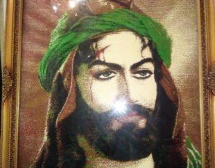 یک عدد تابلو فرش حضرت عباس به فروش میرسد