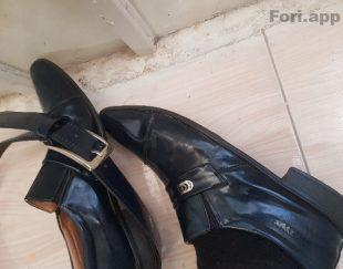 کفش و کمربند ورنی ملی / سایز ۴۴ /براق