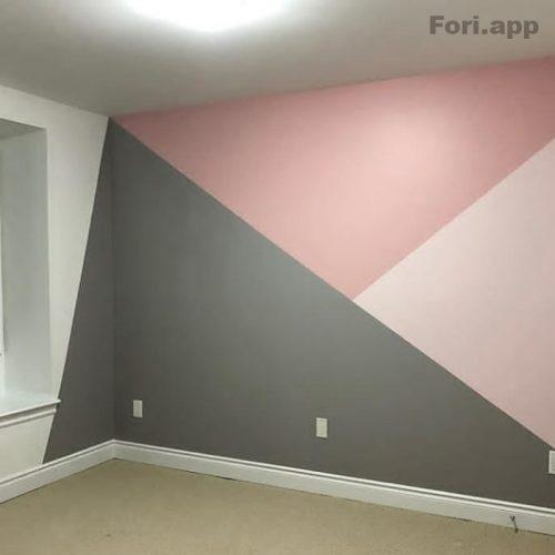 نقاشی ساختمان، بتونه و رنگ آمیزی کناف