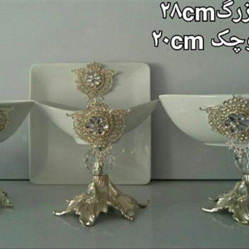 تولیدی سرویس پذیرایی ظروف گنجه عروس