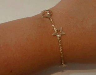 فروش دستبند طلا در حد نو
