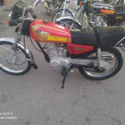 موتورسیکلت مزایده ساوین ۹۱