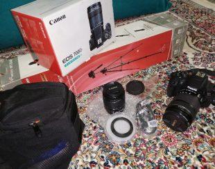 دوربین کاملا سالم همراه تمام تجهیزات لازم