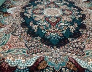 فروش دو عدد فرش ۱۲متری صادراتی ۷۰۰شانه تراکم ۲۵۵۰با کیفیت نو نو استفاده نشده جنس نخ سه لایه