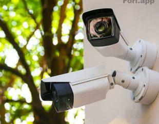 دوربین مداربسته دزدگیر اماکن درب برقی ریموت
